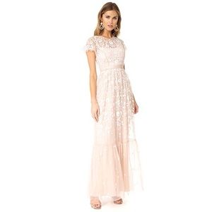 Needle & Thread Meadow Gown Lace Maxi Dress